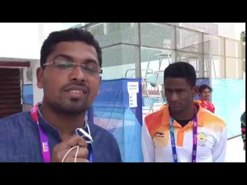 Asian Games : Malayalee Swimmer Sajan Prakash reaches final