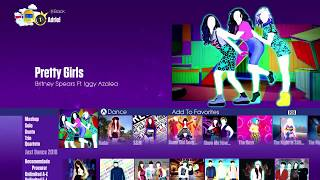 Just Dance 2018 | Menu Song List