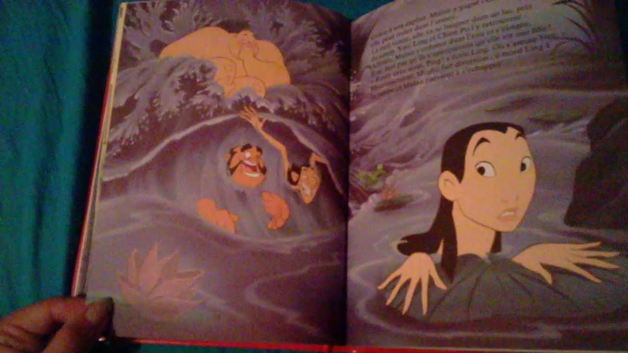 L Histoire De Mulan Disney Livre Audio