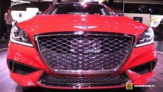 2018 Genesis G80 Sport - Exterior and Interior Walkaround - 2017 Detroit Auto Show