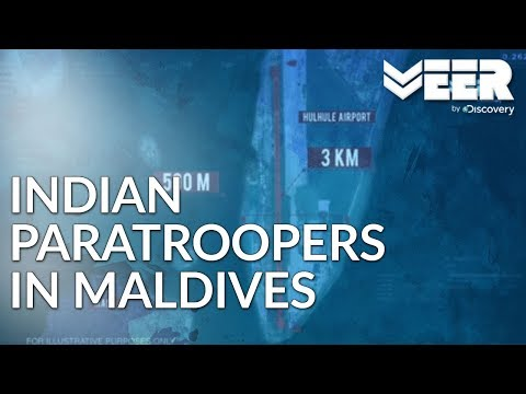Operation Cactus | How Indian Paratroopers Entered in Maldives | Battle Ops | Veer by Discovery