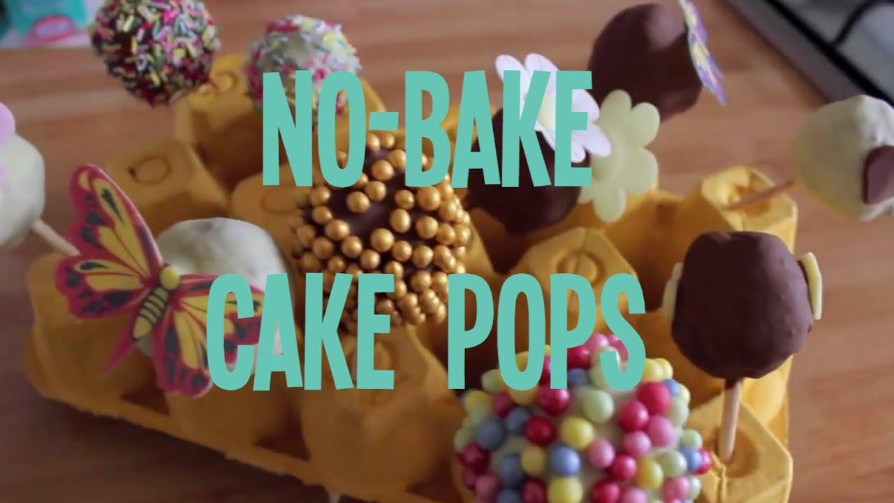 How To Make No Bake Cake Pops