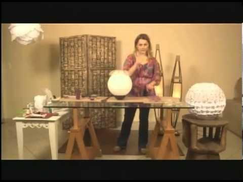 DICAS DE DECORAO  LUMINRIA BALO JAPONS  YouTube
