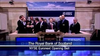1 Feb 2011 The Royal Bank of Scotland rang NYSE Opening Bell