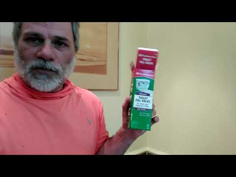 Toilet Repair: Replacing A Toilet Fill Valve On A Flapperless Toilet - Ray Hayden, J.D.