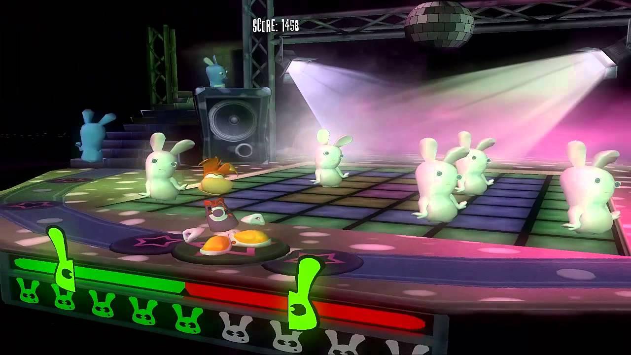 Rayman Raving Rabbids - Bunnies love disco dancing 2 (1000/1000)