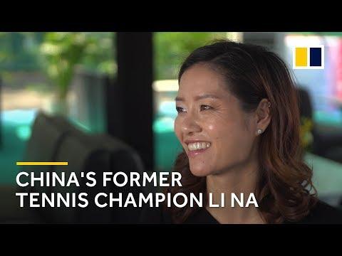 China's Former Tennis Champion Li Na Talks About Naomi Osaka