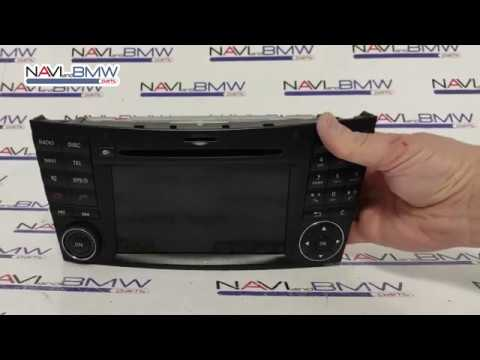 Mercedes E-class 211 CLS 219 ntg 2 5 front panel quality ...