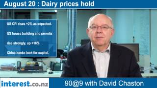 90 seconds @ 9am: Dairy prices hold