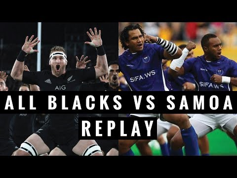REPLAY: All Blacks vs Samoa