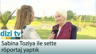 Sabina Toziya ile sette röportaj yaptık - Dizi Tv 566. Bölüm