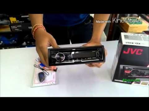 เครื่องเสียงรถยนต์ขอนแก่น JVC KD-R461 ราคาถูก โทร.082-1215733