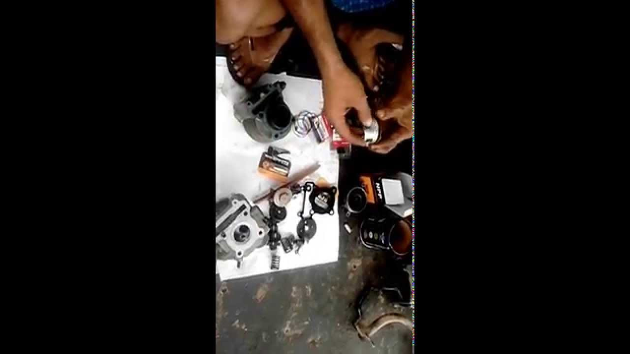 Cara Memasang Ring Piston Mio