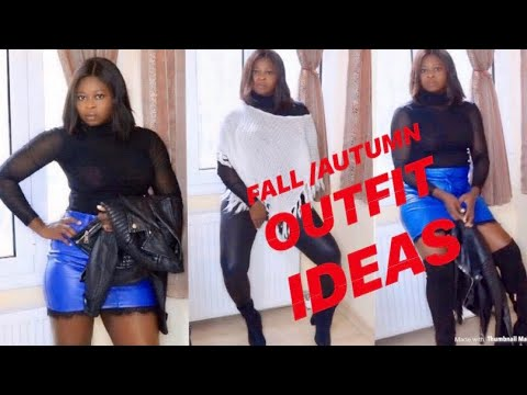 [VIDEO] - FALL / WINTER LOOKBOOK /DRESS UP WITH ME /COLLAB TESSY D'ACQUINO TV 8