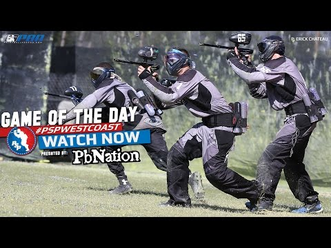 2014 PSP West Coast Paintball Game of the Day - Tampa Bay Damage vs Edmonton Impact