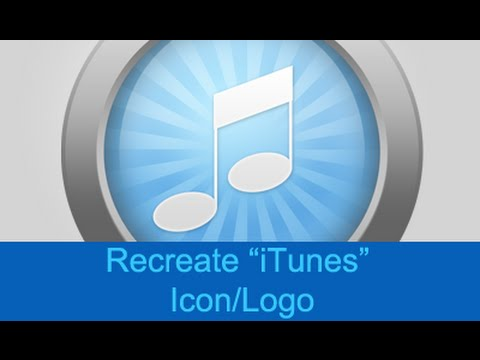 how to make the itunes logo