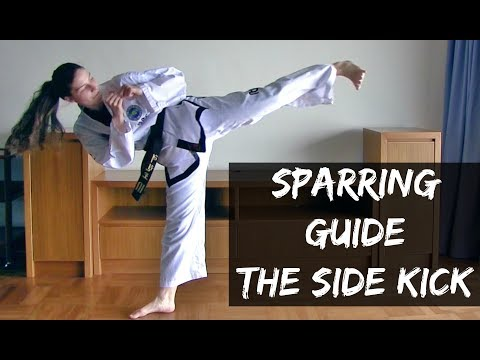 Sparring Guide | How to Use the Side Kick in a Sparring Match | The Martial Artist's Way 🥋