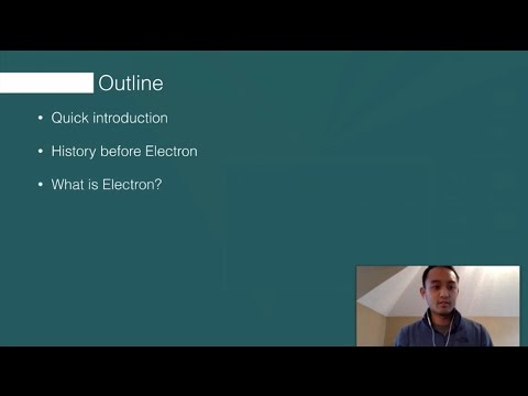 Electron Tutorial - How to Build an Electron App