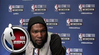 Kevin Durant on Joel Embiid: He is going to take over this league once I'm done | ESPN thumbnail