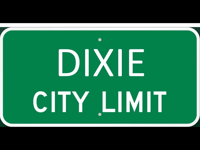 A drive through Dixie, ID