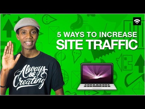Top 5 Ways to Increase Website Traffic [Small Biz]