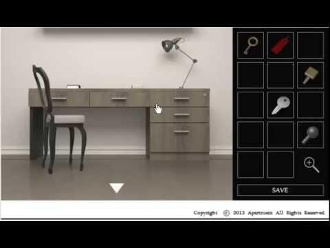Apartment Room Escape Walkthrough apartment # 102-study room escape walkthrough (final sin moneda