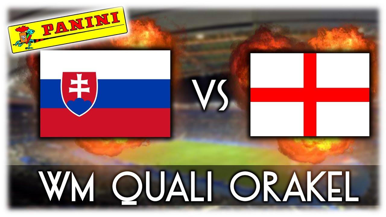 Slowakei Vs England