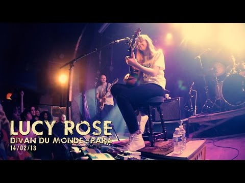 Lucy Rose live at Le Divan du Monde, Paris 2013