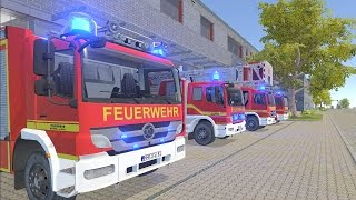 Download Emergency Call 112 – The Fire Fighting Simulation - First Look 4K