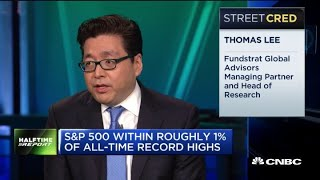 Why Fundstrat's managing partner says 2019 is the best year in 20 years for markets