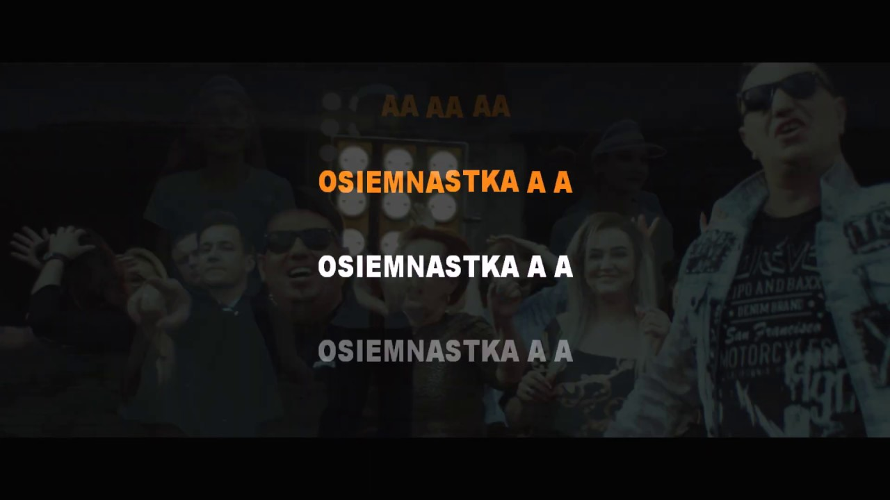 Long & Junior - Osiemnastka (KARAOKE)
