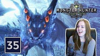 FINAL BOSS XENO'JIIVA | Monster Hunter World Gameplay Walkthrough Part 35