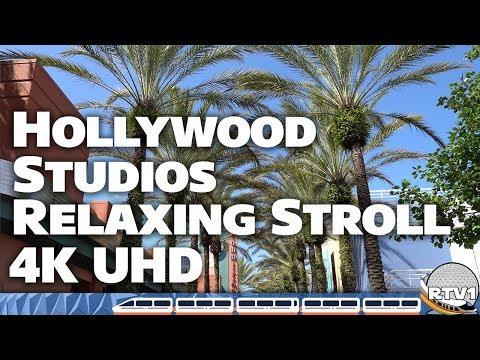 Disney&39;s Hollywood Studios - Random Relaxing Stroll 2018 - 4K U