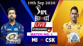 IPL 2020: Match No. 1, CSKvsMI live Streaming, MI vs CSK live Telecast, Weather Report, Playing 11.