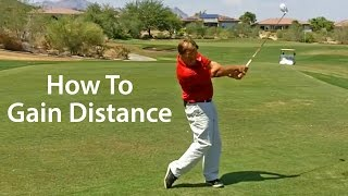 more distance golf swing
