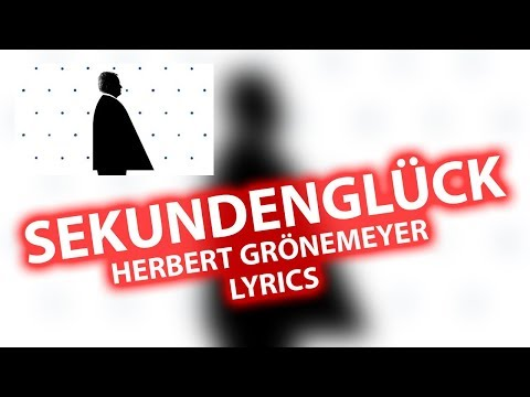 Sekundenglück LYRICS | Herbert Grönemeyer | Lyric Songtext Audio