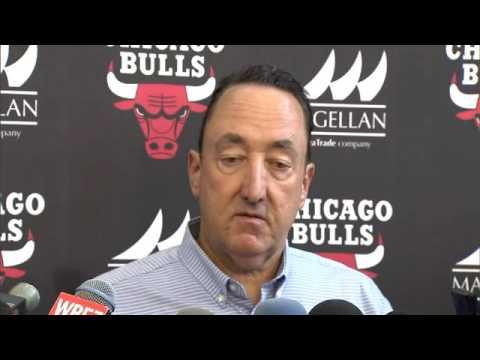 Gar Forman explains how Bulls blend veterans into retool