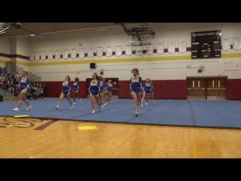 West Irondequoit High School  Monroe County Cheerleading February 2018 C2