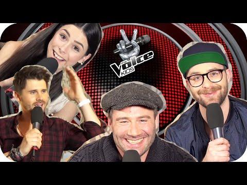 Sasha, Lena, Mark & Thore kommentieren Kommentare | The Voice Kids | 2 Mio Abo Special | SUBTITLES