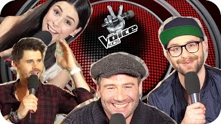 Sasha, Lena, Mark & Thore kommentieren Kommentare | The Voice Kids | 2 Mio Abo Special | SUBTITLES