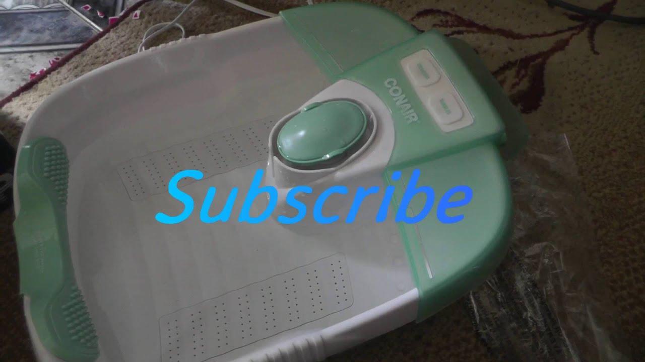 Conair body benefits whirlpool massage foot spa fb23rw   ebay.