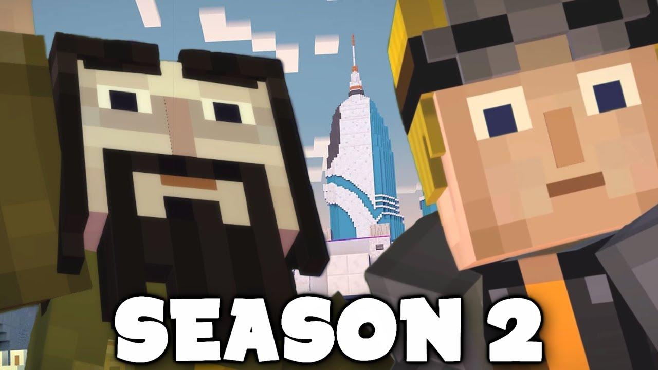 Minecraft Story Mode Season 2 Where Is Lukas And Ivor Hero