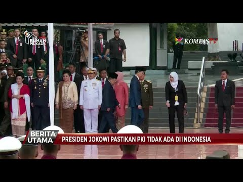 Jokowi Pastikan PKI Tak Akan Tumbuh Lagi Di Indonesia