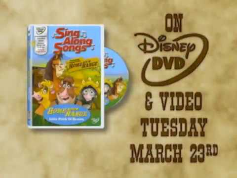 Home On The Range Sing Along Songs 2004 Dvd And Vhs Tv Spot