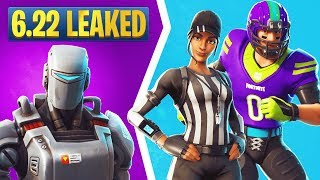 Fortnite 6.22 Leaked Skins: Hunting Party Skin, Whistle Warrior, Blitz, Rush, Spike It, & More