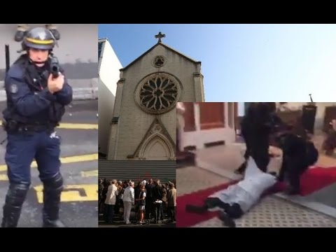 French cops storm barricaded church so it can be turned into parking lot #SainteRita