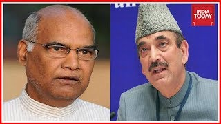 Congress Leader Azad Speak On BJP President Candidate