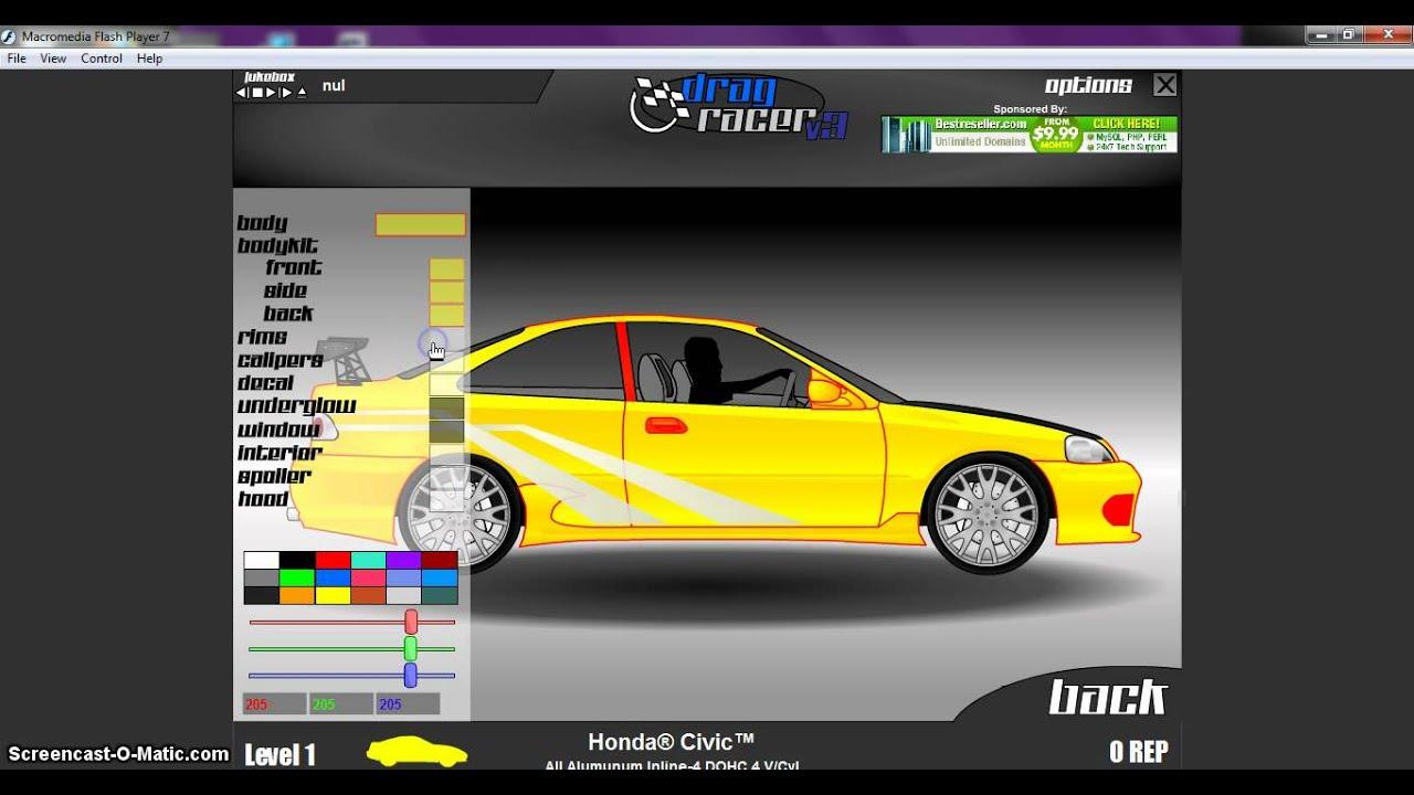 Drag racer v3 civic