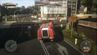 Alarm für Cobra 11 Highway Nights Streife fahren mit Feuerwehr, Minilader, Formel C11