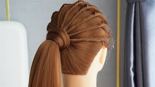 Top 5 Most Beautiful Hairstyles For Party And Wedding Different And Easy Hairstyles For Girls